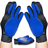 Upgraded Version Pet Grooming Glove for Deshedding for Dogs and Cats, Hair Remover, for Long and...