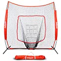 GoSports 7' X 7' Baseball & Softball Practice Hitting & Pitching Net