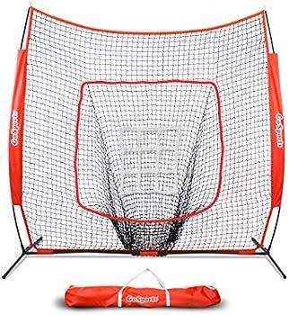 GoSports 7' X 7' Baseball & Softball Practice Hitting & Pitching Net