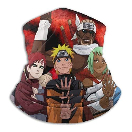 Naruto Multifunktionale Schlauch-Kopfbedeckung, Halstuch, Kopfwickel für Frauen, magisches Kopftuch, Gesichtsmaske, Sturmhaube, Schweißband zum Angeln