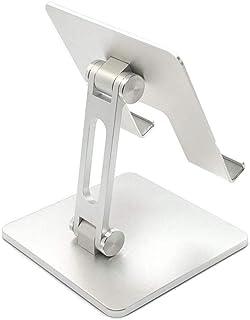 iPad Stand | Silver Color | 180-degree Adjustable Swivel | Aluminum Alloys