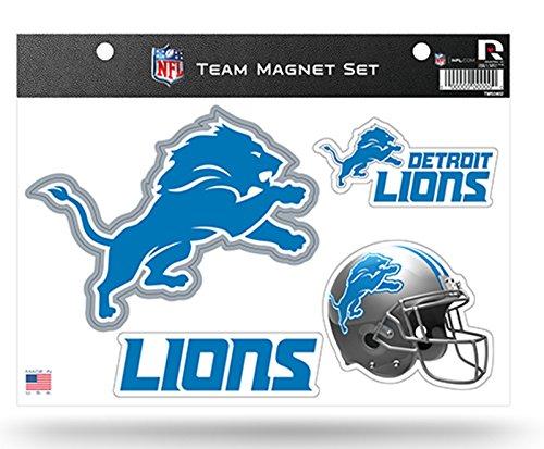 Detroit Lions NEW LOGO Design Multi Die Cut Magnet Sheet Auto Home Football