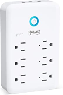 Smart Outlet, Gosund Wall Outlet Extender (15A/1800W),...