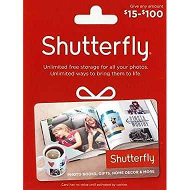 Shutterfly $50 Gift Card