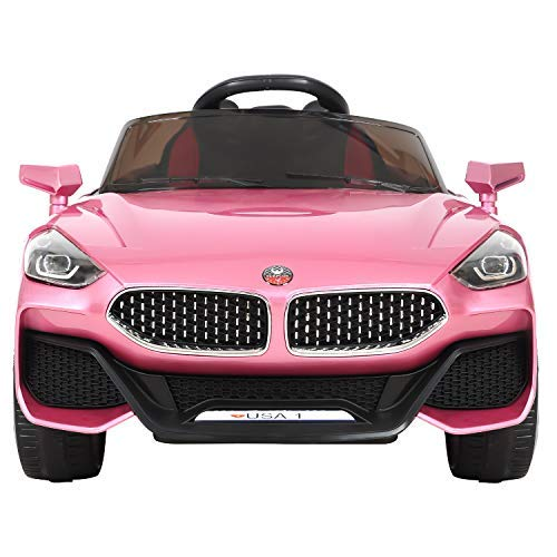 HikeGeek 12V Kids Ride On Car, Electric RC Ride On Toys Battery Powered, Parental Remote Control &...