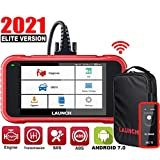 LAUNCH Scan Tool- CRP123E OBD2 Scanner for Engine Transmission ABS SRS (Airbag) Code Reader Car Diagnostic Tool,Android 7.0 Wi-Fi Free Update,Upgrade Ver. of CRP123- TPMS EL-50448
