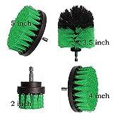 MALAT Power Scrubber Brush Set para brochas de baño, batería de repuesto Power Toilet Brush cepillo eléctrico de limpieza