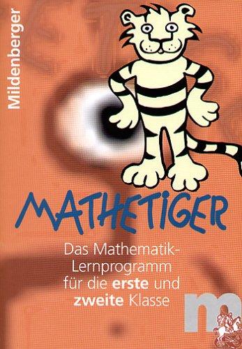 Mathetiger 1/2. Lernprogramm für 1. und 2. Klasse / Mathetiger 1/2, Homeversion, Einzellizenz, CD-ROM: Lernprogramm Mathematik für die 1. und 2. Klasse