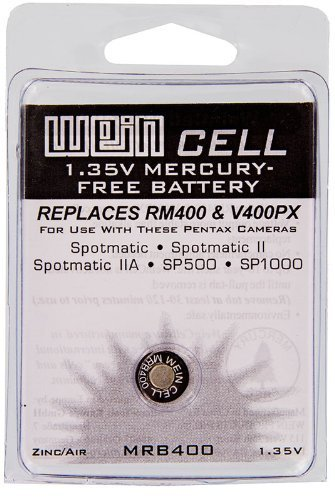 Weincell MRB400 Z400PX PX400 EPX400 RM400 1.35V Zinc Air Battery by Wein