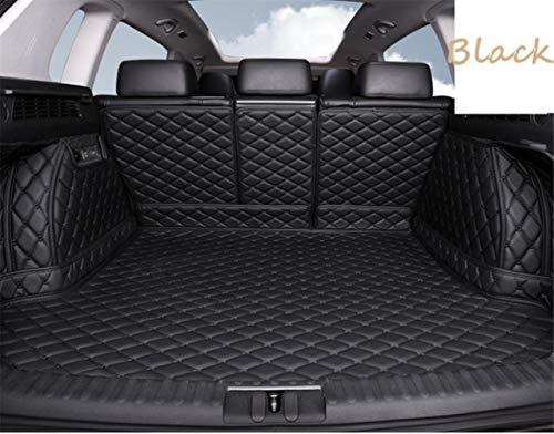 Kofferraummatte für Ford Kuga Escape 2013-2019 Kofferraumwanne Matte Ladekantenschutz Kofferraumschutz Autozubehör - Schwarz, Kuga Escape 13-19