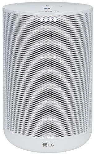 LG WK7W - Altavoz con Inteligencia Artificial y Asistente de Google en Español Integrado (Sonido Hi-Res con Tecnología Meridian, Wi-Fi, Bluetooth, Chromecast Integrado) Color Blanco