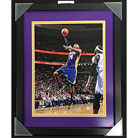 Framed Size: 12 x 15 Kobe Bryant Los Angeles Lakers Profile Photo
