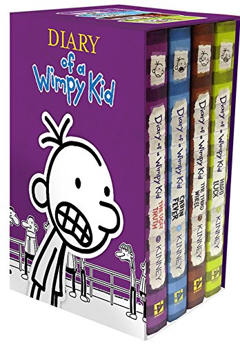 Diary of a Wimpy Kid Box of Books 5-8
