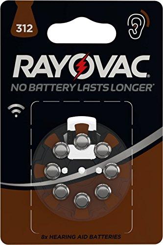Varta HA312 4607745418 Batterie 8 Stück, metallisch, Stück: 1