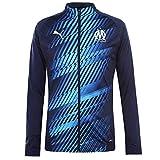 PUMA Olympique de Marseille Herren Stadium Jacke Peacoat XS