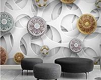 壁紙大きなポスター3dモダンファッションステレオスコピックホワイトコンパクト抽象的なテレビの背景の壁紙behang美しさ-150cmx105cm