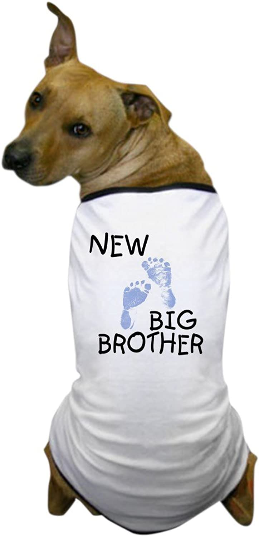 CafePress  New Big Bredher (bluee) Dog TShirt  Dog TShirt, Pet Clothing, Funny Dog Costume