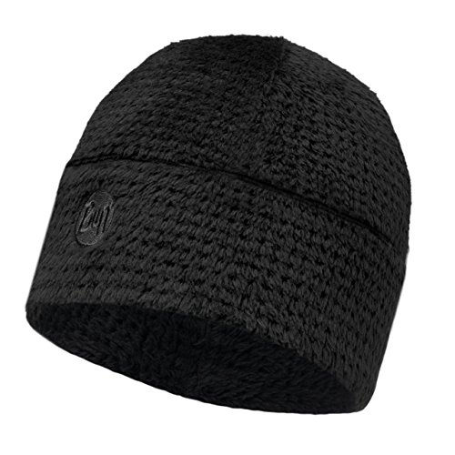 Buff Erwachsene Mütze Thermal Hat, Solid Graphite Black, One Size, 110955.901.10.00