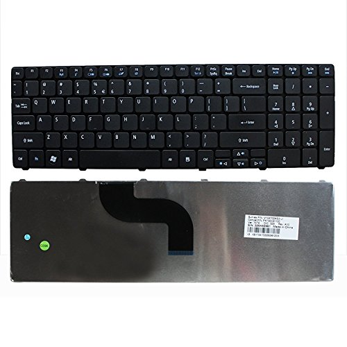 NewHigh Laptop US Keyboard for Acer Aspire 5742-6838 5742Z-4685 5742-7645 USA Stock + Clear Protector Cover