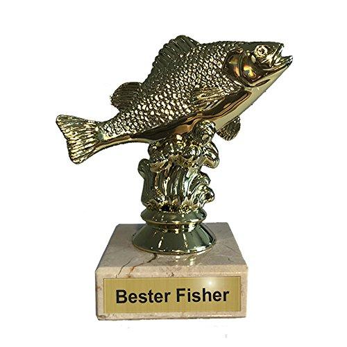 Larius Group Barsch Pokal Angel Fisher Fisch Trophäe Figur inkl. Gravur Bester Angler