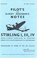 Shorts Stirling I, III & IV -pilot's Notes
