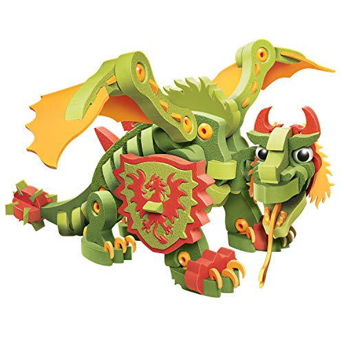 やわらかパズルブロック ブロッコ ドラゴンシリーズ ナイトドラゴン