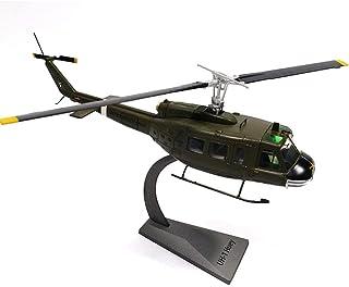 QLRL Af1 1/48 Scale Bell Uh-1 Iroquois Huey Utility Helicopter Diecast Metal Plane Modelo de Juguete para Regalo de colección