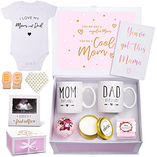 New Mom Gifts for Women- Announcements Pregnancy Gifts for First Time...