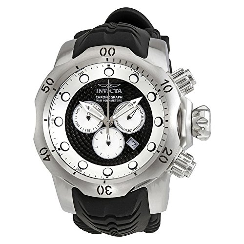 [インビクタ] Invicta 腕時計 Venom Chronograph Black and Silver Dial Men's Watch メンズ 20439 [並行輸入品]