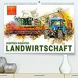 Landwirtschaft - Hightech Giganten (Premium, hochwertiger DIN A2 Wandkalender 2022, Kunstdruck in Hochglanz): Immer größer, immer stärker, immer ... Landwirtschaft. (Monatskalender, 14 Seiten )