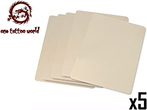 PFT 5X Sheets of Tattoo Practice Skin, XLarge Size 8