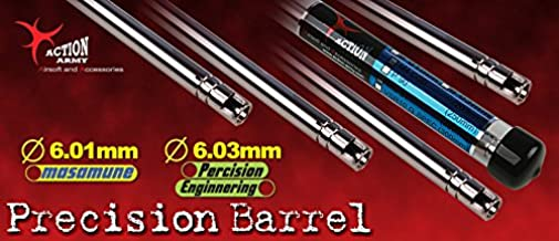 Action Army Spring Precision Airsoft Inner Barrel 6.01mm 430mm - VSR10 Made in Taiwan