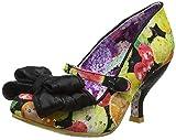 Irregular Choice Love is in The Air, Zapatos de tacón con Punta Cerrada para Mujer, Negro Negro Negro Oscuro, 39 EU