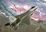 F-22 fighter rompecabezas clásico para adultos y niños rompecabezas de 1000 piezas rompecabezas militar rompecabezas educativo actividad entre padres e hijos-70x50cm