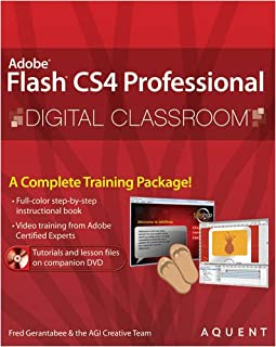 Flash CS4 Professional Digital Classroom, (Book and Video Training)