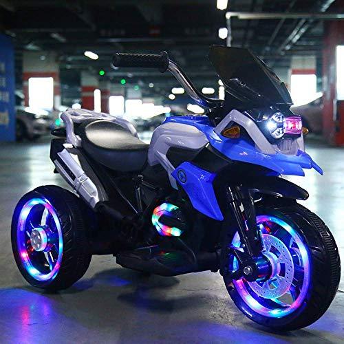 Niños motocicleta eléctrica, pilas Paseo en bici del motor de 3 ruedas...