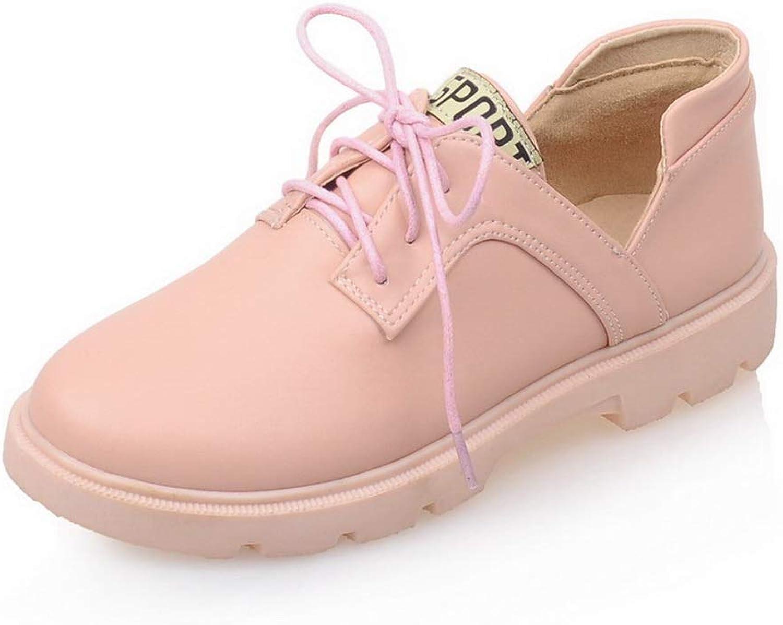 BalaMasa Womens Casual Hiking Solid Urethane Walking shoes APL10530