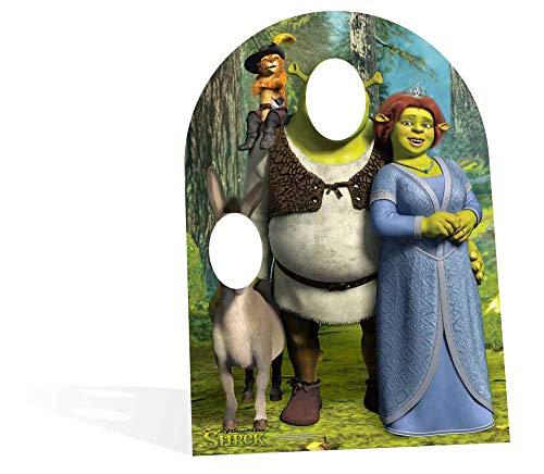 STAR CUTOUTS - Stsc821 - Figurine Géante Passe-Tête en - Shrek pour Enfant - Dreamworks