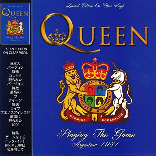 QUEEN - PLAYING THE GAME: LIMITED EDITION ON CLEAR VINYL