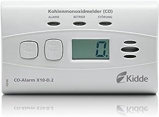 Kidde CO-Alarm X10-D.2 Kohlenmonoxidmelder, weiß, 1 Stück