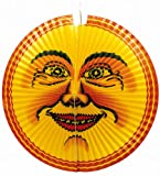 Amscan 2330 - Lampion Mond, 65 cm, Papier, Laterne, Hängedekoration