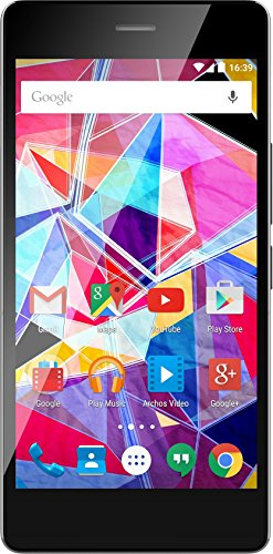 ARCHOS Diamond S LTE (12,7 cm (5 Zoll) Super AMOLED HD Display, Dual SIM, Octa-Core, 16 MP + 8 MP Frontkamera, 2 GB RAM, 16GB Speicher, Android 5.1 Lollipop, Fusion Storage)