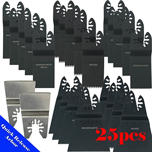 Find Discount MTP TM 25 Japan / Bi-metal Fine Quick Release Universal Fit Multi Tool Oscillating Mul...