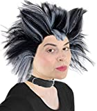 Cats Musical Wig, White and Black Cat Costume Wig, for Men and Women Cat Costume Wig for Musicals (Black and White)