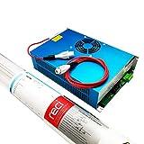 Reci Tubo láser de CO2 130W (pico 160W) 1650mm W6 / S6 y DY20 Power spply para grabado láser y corte Seguro y Air Express
