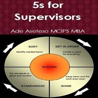 5S for Supervisors audiobook cover art