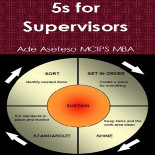 5S for Supervisors Audiobook By Ade Asefeso MCIPS MBA cover art