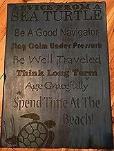 RW Advice from a sea Turtle Wall Decor