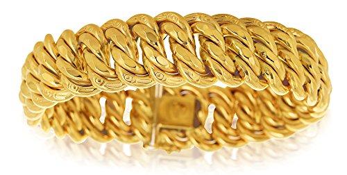 Avenuedubijou Bracelet Maille Américaine Or 750/1000