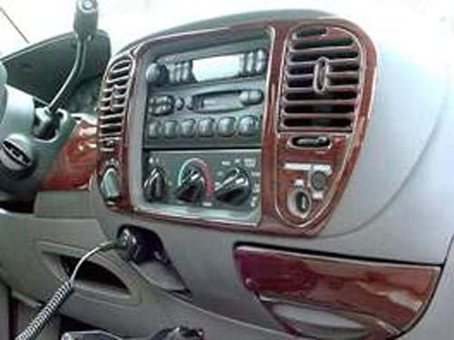 Ford Easy-to-use EXPEDITION Limited price INTERIOR BURL WOOD DASH KIT 2000 2001 2 SET TRIM